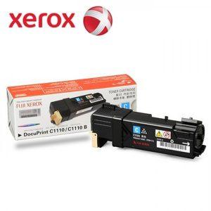 Jual Beli Toner Fuji Xerox DocuPrint CT201115 Cyan Komplit Dus